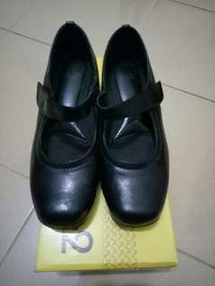 CR2 Black Mary Jane Shoes