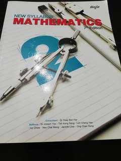Sec 2 MATHEMATICS Textbook