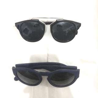 2 pcs sunglasses (Sky Sunglasses)