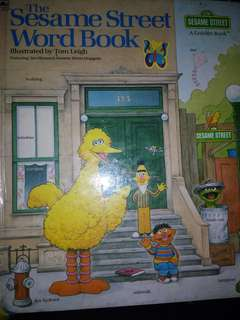 Sesame Street Word Book