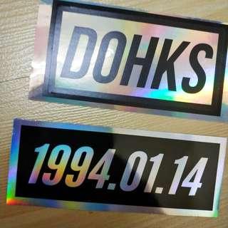 EXO D.O Stickers