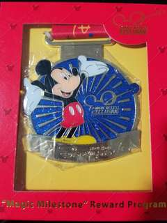Disney Pin 廸士尼十次入園掛繩