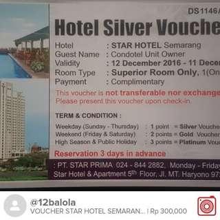 Voucher Menginap Star Hotel Semarang