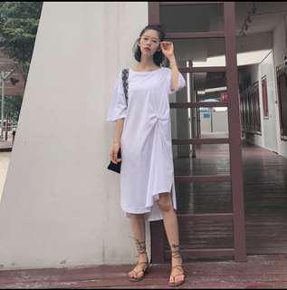 🚚 白色連衣裙