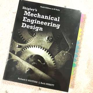 Shigley's Mechanical Engineering Design Book