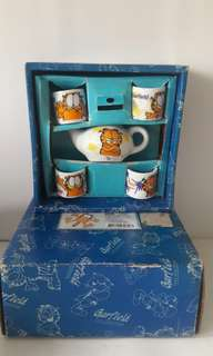 Garfield mini tea set