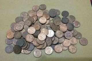 Uang kuno malesyia campur