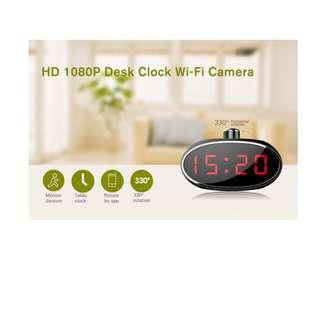Spy Clock Wifi IP With Rotating Lens