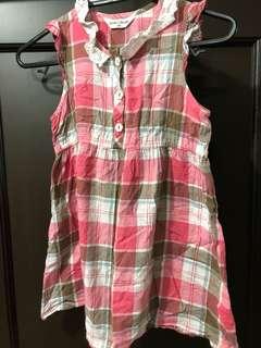 peda and mada plaid dress 4T