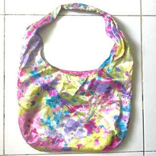 PLOVED: Rainbow Floral Shoulder Cloth Bag