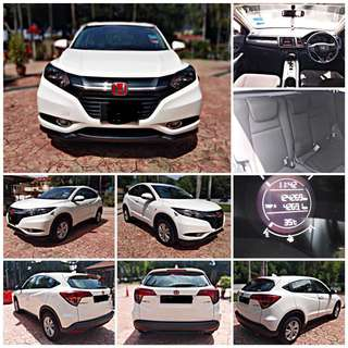 SAMBUNG BAYAR/CONTINUE LOAN  HONDA HRV AUTO 1.8 YEAR 2015 MONTHLY RM 1000 BALANCE 6 YEARS ROADTAX VALID TIPTOP CONDITION  DP KLIK wasap.my/60133524312/hrv
