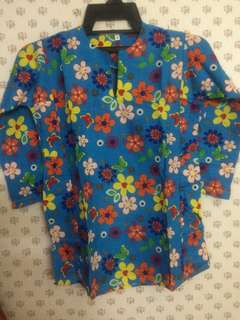 Baju Kurung Cotton for kids