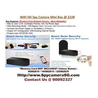 Ip Camera Spy Camera Box WIFI
