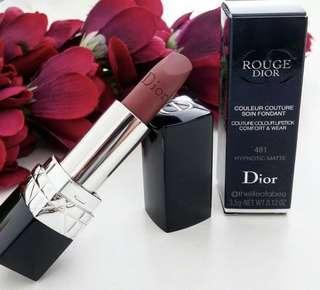 🚚 Rouge Dior Hypnotic Matte - 481