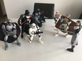 lego compatible Star Wars figures