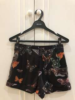 BRAND NEW!!! TOPSHOP Butterfly Shorts