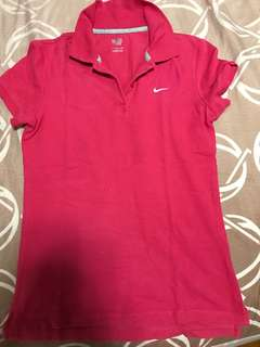 Authentic women's Nike Polo shirt