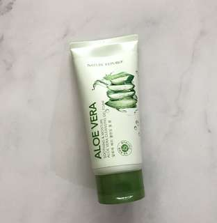 Nature Republic Aloe Vera Cleansing Gel Foam