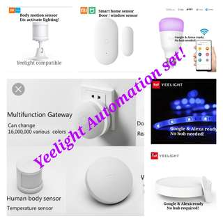 Yeelight Automation set. Motion & door sensor