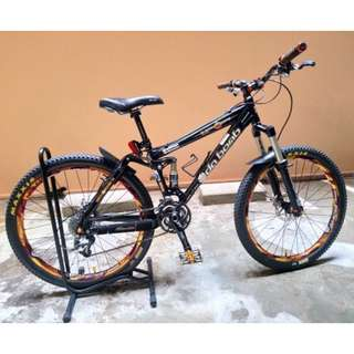 WTS Like New 2013 Da Bomb Bike Cherry Bomb Full Suspension Mountain Bike MTB
