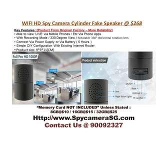 Spy Camera Cylinder WIFI IP