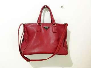 Bag / tas merah Hana