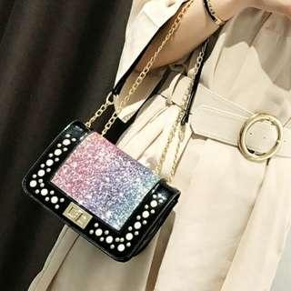 Ready stock + 🎁 Glory Switch sling bag