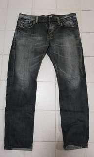 Edwin jeans (black faded. Slim cut)