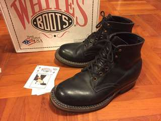 White's Boots Semi Dress Military Leather Boots