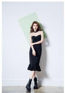 🚚 Thegirlwho黑色洋裝