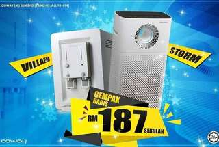 Coway Water Purifier and Air Purifier