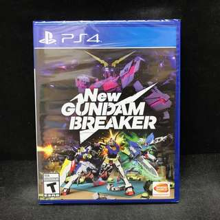 (BN) PS4 New Gundam Breaker