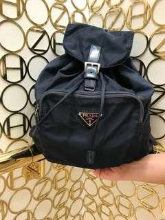 正品 真品 正貨 Prada Backpack 背包 背囊