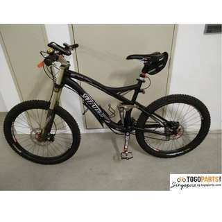 WTS 2008 Specialized Enduro Pro SL Full Suspension Mountain Bike MTB