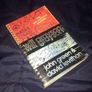 Will Grayson, Will Grayson by John Green & David Levithan