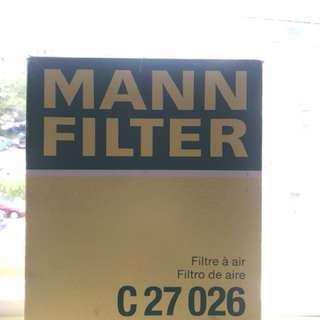 寶馬MANN FILTER C27026