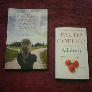 Adultery by Paulo Coelho + The 10 Best Decisions A Woman Can Make