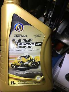 Engine Oil United oil 5w50 fully synthetic