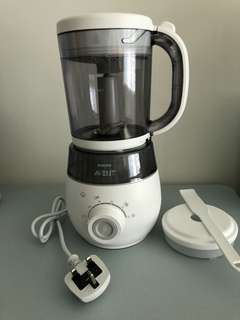 Pre loved Philips Avent 4 in 1 blender