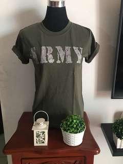 ARMY shirt xs