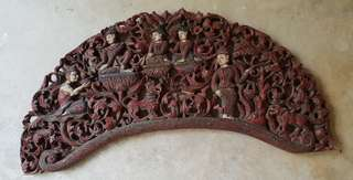 Vintage Teak Wood Carving-clearance sale