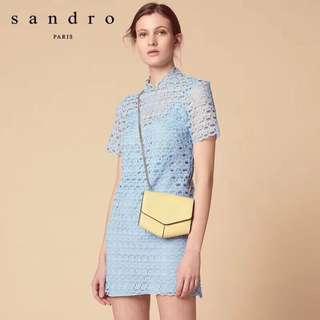 2018年Sandro夏季 蕾絲連衣裙 洋裝