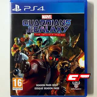 PS4 MARVEL GUARDIANS OF THE GALAXY THE TELLTALE SERIES