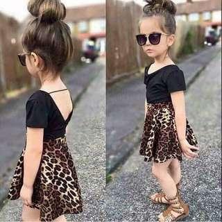 Terno top and skirt for kids