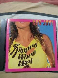 Rock CD - Rare Japan Press Bon Jovi Slippery When Wet