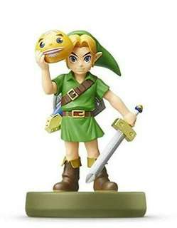 Nintendo Amiibo The Legend of Zelda Series young Link majora mask (restock)
