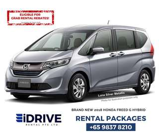 BRAND NEW HONDA FREED G HYBRID (SILVER)