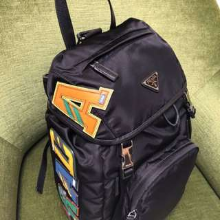 Prada backpack 背包 書包