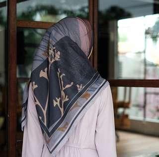 Voa printed scarf nett