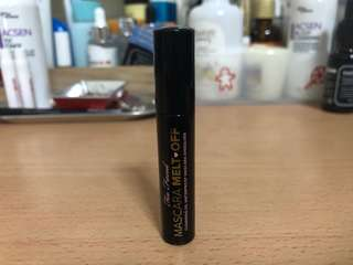 Too Faced Mascara Melt Off (Deluxe Size)